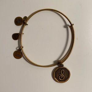 Alex and Ani S Charm Bracelet